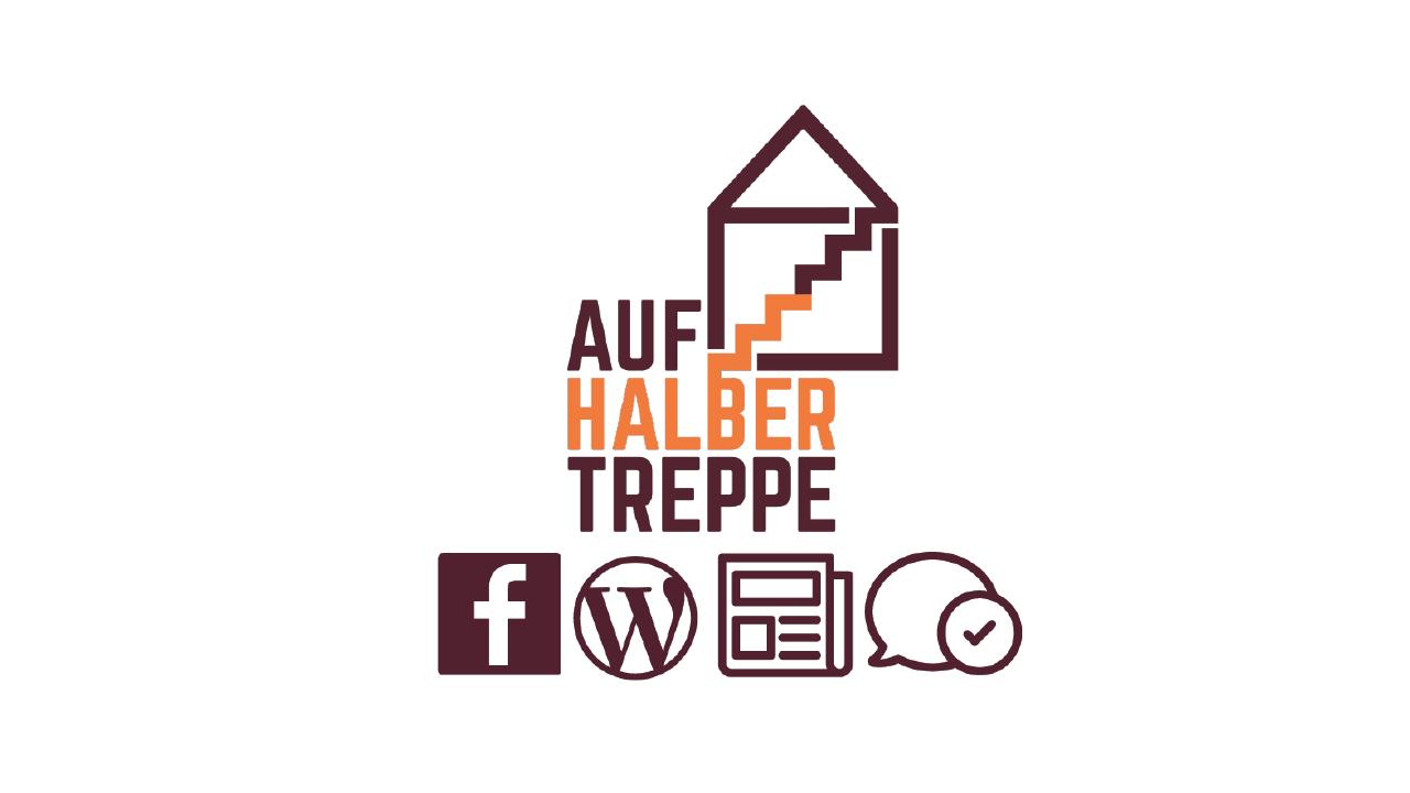 Logo und Channels von Auf halber Treppe