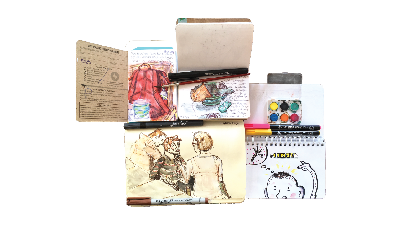 Zeichnunge, Skizzen, Artboards